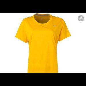 Nike Dry-fit shirt yellow